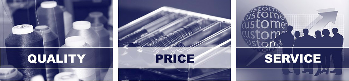 Quality, price, service