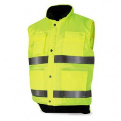 High visibility vests with...