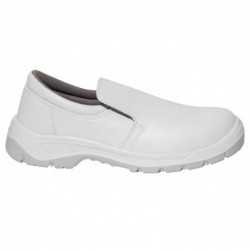 PAIR OF WHITE SAFETY SHOE