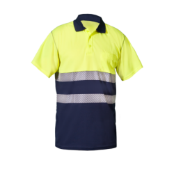 HV SHORT Sleeve Polo with...