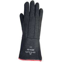 BLACK ANTI-HEAT GLOVE