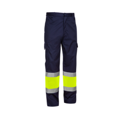 Two-tone woven HV pants