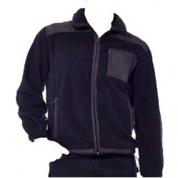 Polar fleece with full zip