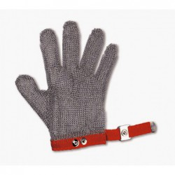 Stainless steel mesh glove...