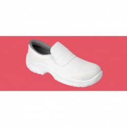 PAIR WHITE SAFETY SHOE WITH...