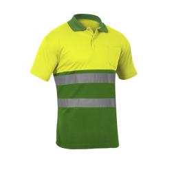 HV TWO-TONE Short Sleeve Polo